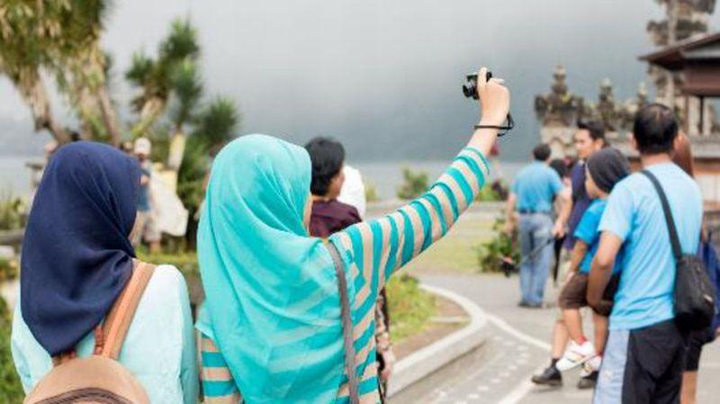 Ilustrasi muslim traveller/Al Arabiyya