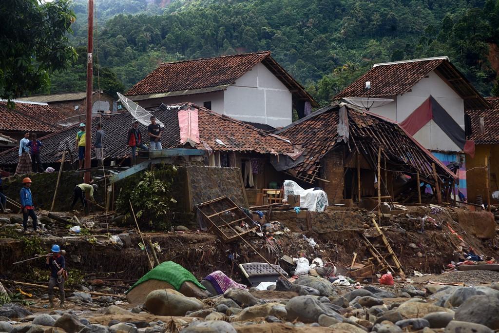 18 Pesantren di Banten Rusak Berat Diterjang Banjir
