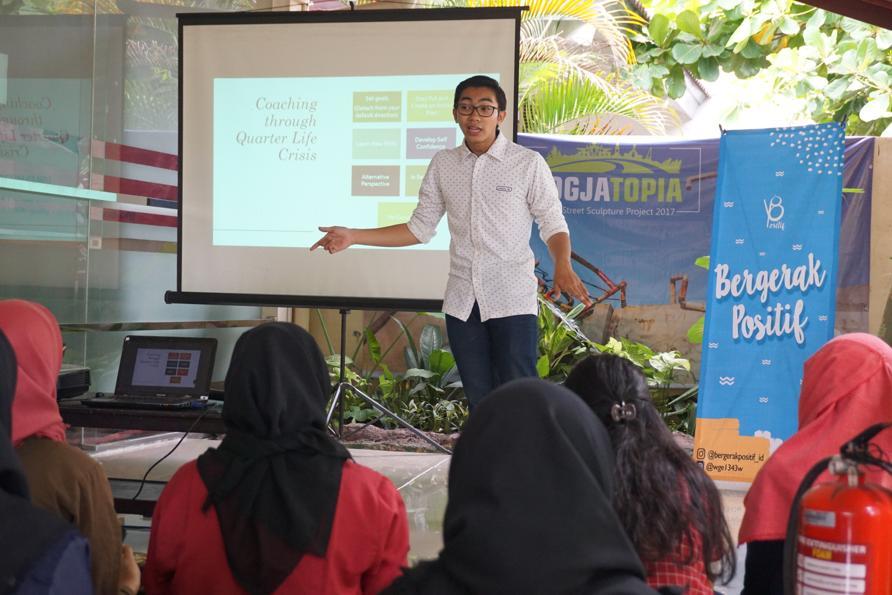 Bergerak Positif, Komunitas dan Layanan Manajemen Stres untuk Remaja