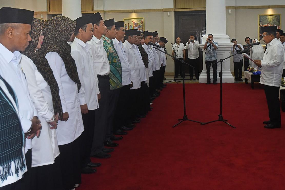 Dewan Masjid Banten Dilantik