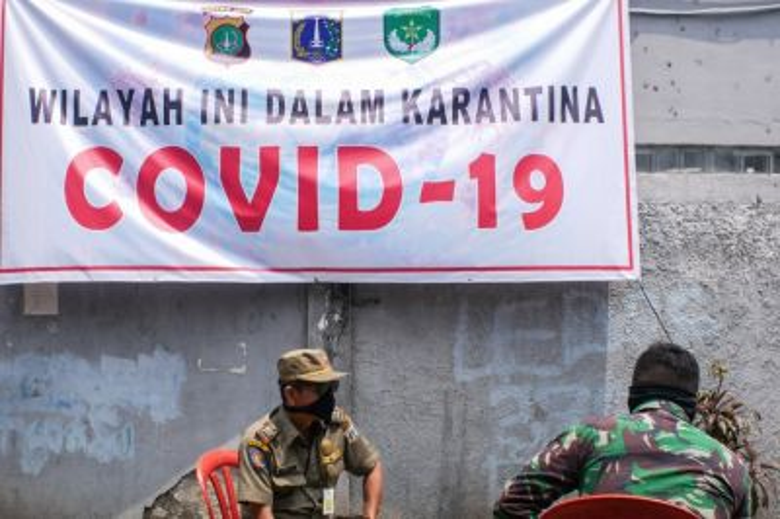 183 Orang Diisolasi di Masjid Jami Kebon Jeruk Jakarta Barat