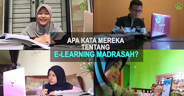 Ini Kesan Para Siswa Setelah Menggunakan <i>E-Learning</i> Madrasah dari Kemenag