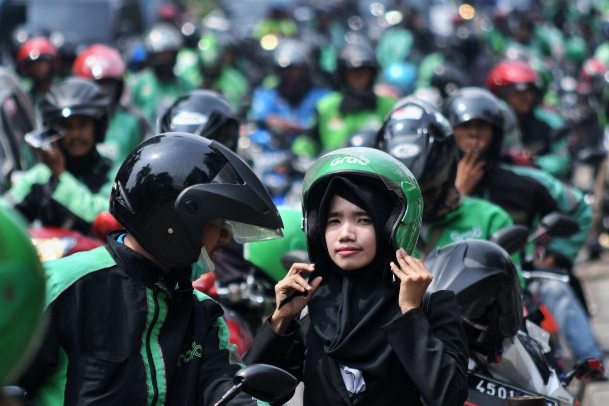 URC Tangerang Bersatu, Menengok Semangat Ojol Lawan Korona
