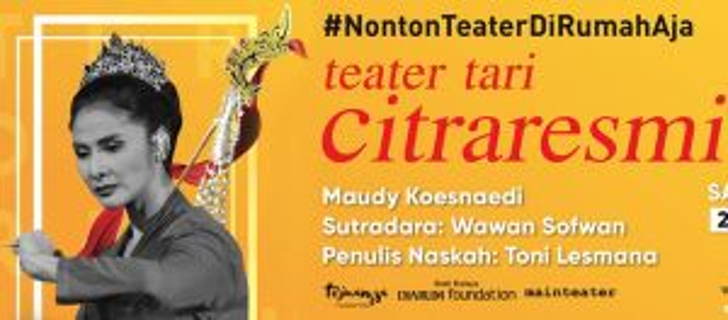 Perankan Citraresmi, Maudy Koesnaedi Tampil di Teater <i>Online</i> Siang Ini