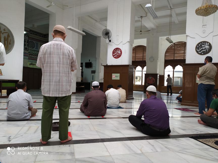 Masjid Cut Meutia Jakpus Gelar Salat Jumat Mulai Hari Ini