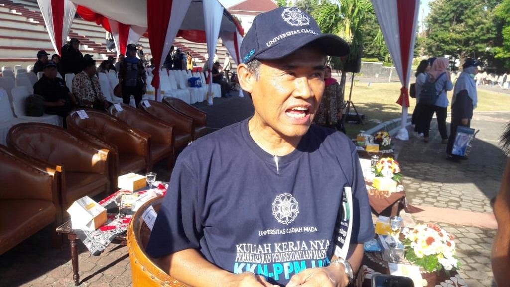 Rektor UGM, Panut Mulyono. Foto: Medcom.id/Ahmad Mustaqim