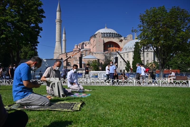 Salat Jumat Pertama di Hagia Sophia akan Disiarkan Langsung