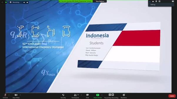 Empat Pelajar Indonesia Raih Medali di Olimpiade Kimia Internasional