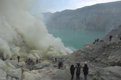 Kemendikbud Ajukan Kawah Ijen Jadi Bagian Jaringan Geopark Dunia