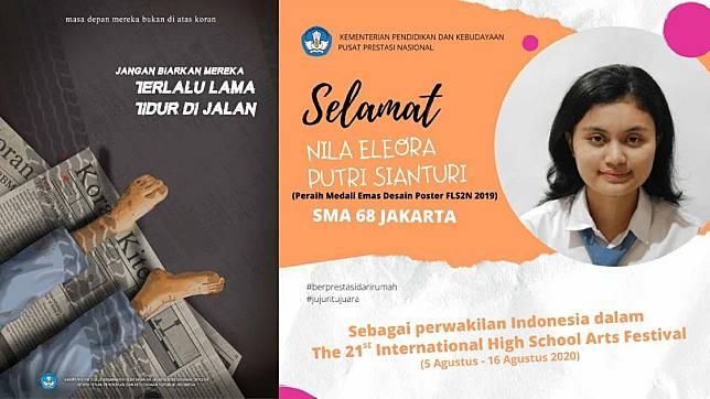 Poster Karya Pelajar Indonesia Ini Menangkan Medali Emas di Jepang