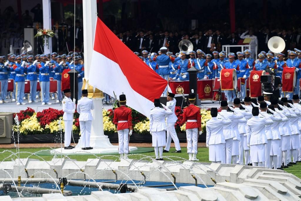Upacara Pengibaran Bendera Merah Putih Digelar Virtual