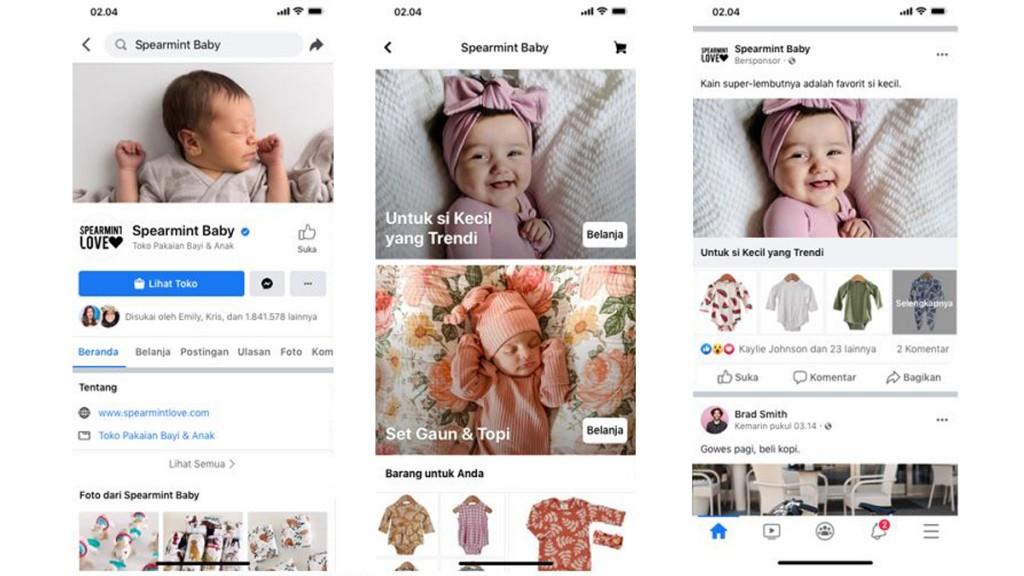 Dukung Bisnis UKM, Facebook Kenalkan Fitur Shops