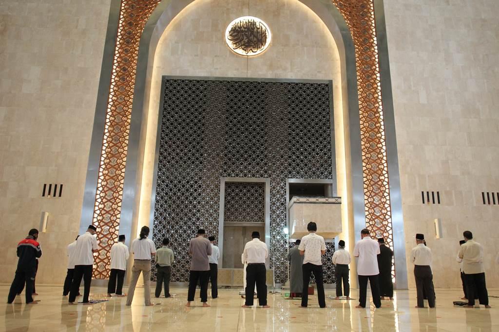 Gelar Salat Tarawih, Masjid Istiqlal Hanya Tampung 2.000 Jamaah