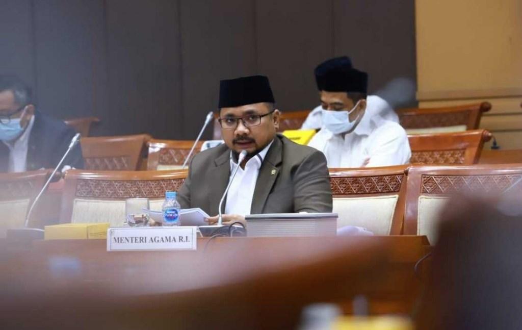 Menteri Agama RI, Yaqut Cholil Qoumas (Foto: Dok. Kemenag)