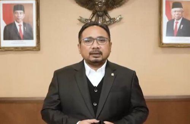 Menteri Agama RI, Yaqut Cholil Qoumas (Foto: Ist)
