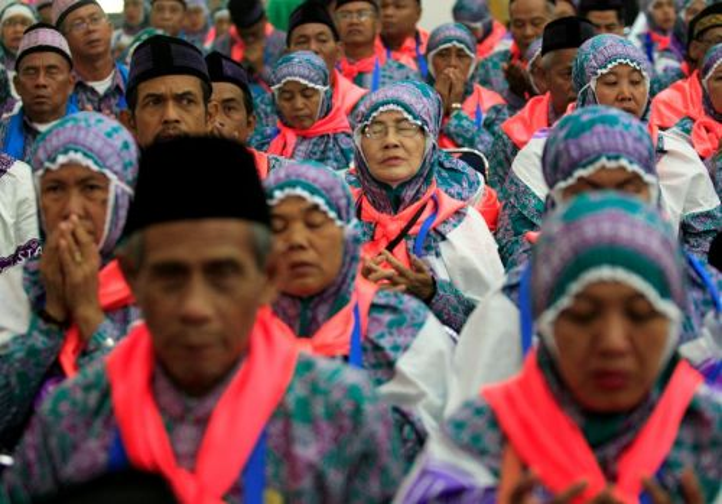 Jamaah haji Indonesia (Foto: Media Indonesia/Adam Dwi)